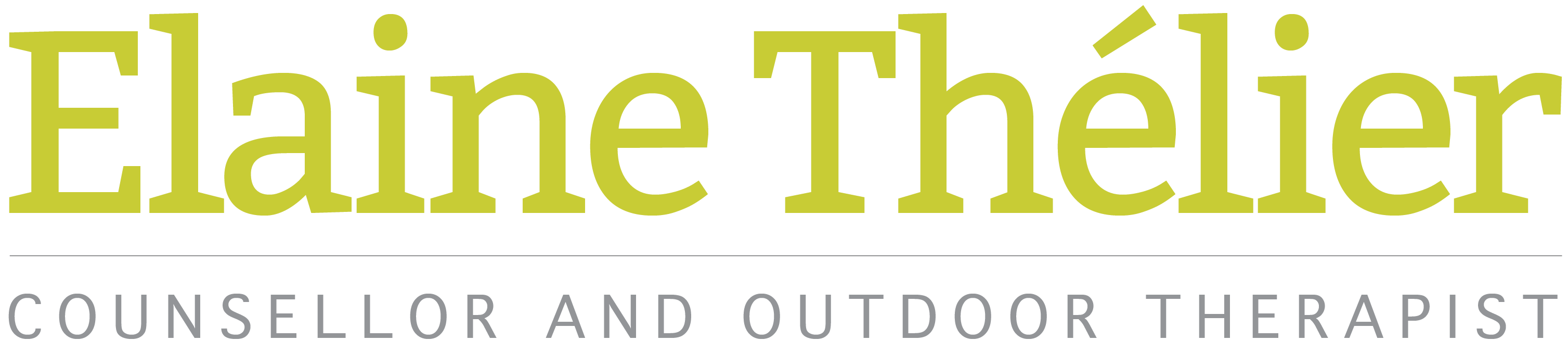 elaine thelier logo